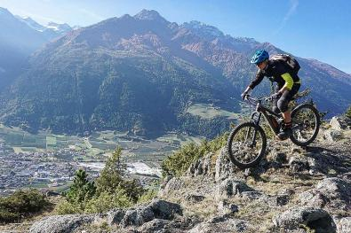 Vacanze in mountain bike in Val Venosta